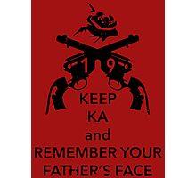 Keep KA - black edition Photographic Print