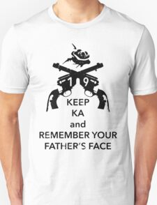 Keep KA - black edition T-Shirt