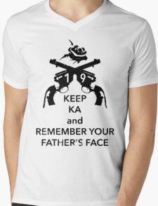Keep KA - black edition Mens V-Neck T-Shirt