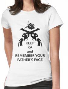 Keep KA - black edition Womens Fitted T-Shirt