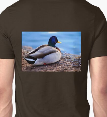 A Male Mallard Duck Unisex T-Shirt