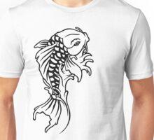 Koi - Black Unisex T-Shirt
