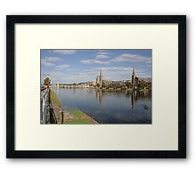 Inverness with Ducks Framed Print