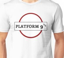 HARRY POTTER - PLATFORM Unisex T-Shirt