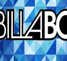 Billabong Blue Sticker