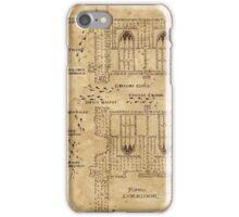 Marauder's Map, Footsteps iPhone Case/Skin