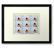 The Steady Flame of Resentment Framed Print