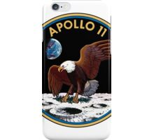 Apollo 11 Mission Patch iPhone Case/Skin
