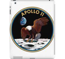 Apollo 11 Mission Patch iPad Case/Skin