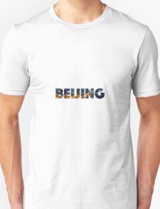 Beijing, China   CITY Unisex T-Shirt