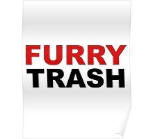 Furry TRASH Poster