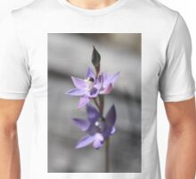 Thelymitra in Blue Unisex T-Shirt