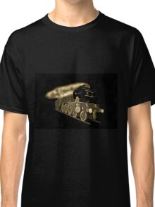 A digital old print painting of the Flying Scotsman, Steam Locomotive Classic T-Shirt