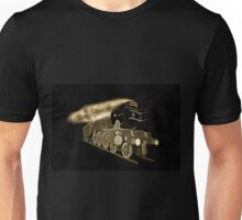 A digital old print painting of the Flying Scotsman, Steam Locomotive Unisex T-Shirt