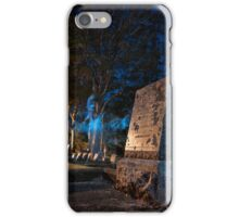 A Werewolf in the Graveyard iPhone Case/Skin