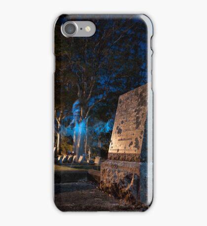 A Werewolf in the Graveyard iPhone Case/Skin