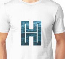 """The Letter """"H"""" Ocean Unisex T-Shirt"""