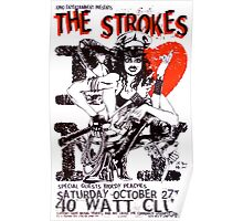 The Strokes concert post Poster