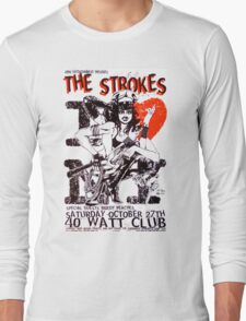 The Strokes concert post Long Sleeve T-Shirt