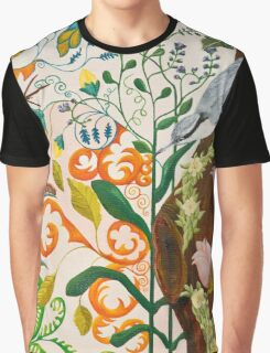 Nut Hatch and Caterpillar Graphic T-Shirt