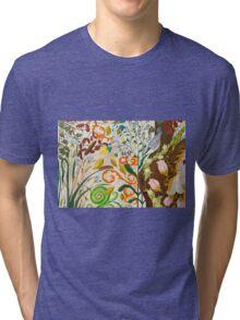Nut Hatch and Caterpillar Tri-blend T-Shirt