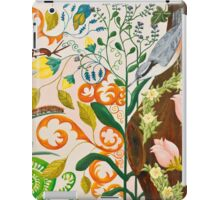 Nut Hatch and Caterpillar iPad Case/Skin