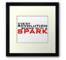 Spark Framed Print