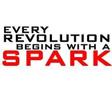 Spark Photographic Print