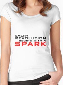 Spark Women's Fitted Scoop T-Shirt