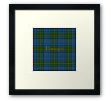 Donegal Tartan county Donegal Framed Print