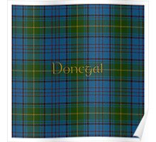 Donegal Tartan county Donegal Poster