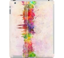 Vienna V2 skyline in watercolor background iPad Case/Skin