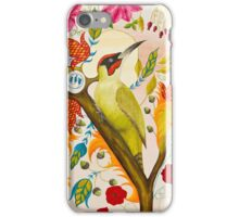 Green Woodpecker iPhone Case/Skin
