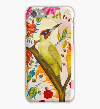 Green Woodpecker iPhone Case/Skin