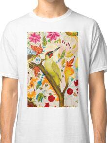 Green Woodpecker Classic T-Shirt