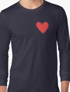 My Valentine Heart Long Sleeve T-Shirt