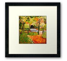 Newtown Creek Copse Framed Print