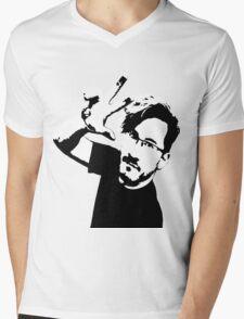 Markiplier/Stencil Mens V-Neck T-Shirt