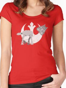 Snow ATtack Women's Fitted Scoop T-Shirt