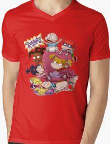 rugrats Mens V-Neck T-Shirt
