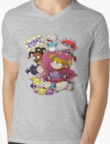 rugrats Mens V-Neck T-Shirt