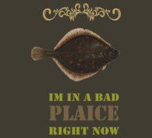 Im in a bad Plaice  by Rob Hawkins