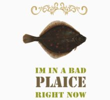 Im in a bad Plaice  Baby Tee