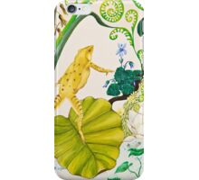 Frog and Lilly iPhone Case/Skin