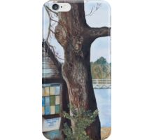 Newtown Creek Boat Hut iPhone Case/Skin