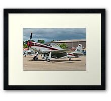 """Cavalier F-51D Mustang 2 NL405HC """"It's About Time"""" Framed Print"""