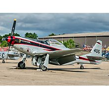 """Cavalier F-51D Mustang 2 NL405HC """"It's About Time"""" Photographic Print"""