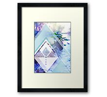 water haze Framed Print