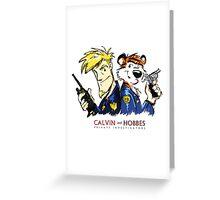 Calvin and Hobbes - PI Greeting Card