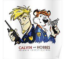 Calvin and Hobbes - PI Poster